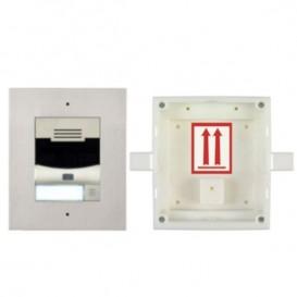 2N IP Solo + caixa de instalação na parede