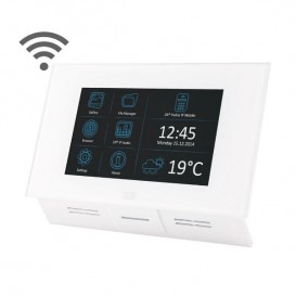 Intercomunicador 2N Indoor Touch com WiFi - Branco