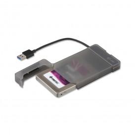 i-tec MYSAFEU313 Caixa para Discos Rígidos 2.5'' Compartimento HDD/SSD Preto