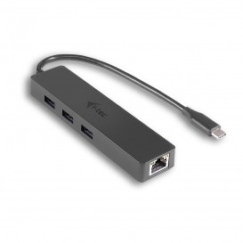 i-tec C31GL3SLIM hub de interface USB 3.0 (3.1 Gen 1) Type-C 5000 Mbit/s Preto