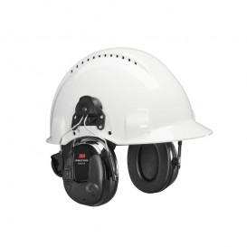 3M Peltor ProTac III Slim Preto – Aplicação capacete