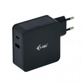 i-tec CHARGER-C60WPLUS carregador de dispositivos móveis interior Preto