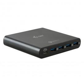 i-tec CHARGER80W carregador de dispositivos móveis interior Cinzento