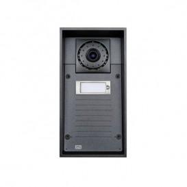 2N Helios IP Force com 1 tecla, câmara e altavoz 10W