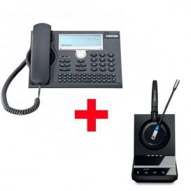 Aastra 5380 mais auricular Sennheiser DW5015