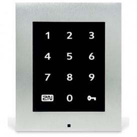 Access Unit 2N com teclado numérico tátil com moldura de cobertura