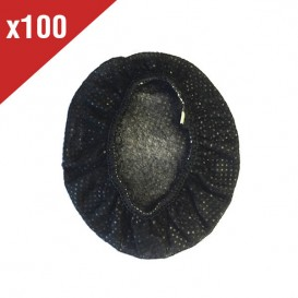 Almofadas descartáveis - preto (100 unidades)
