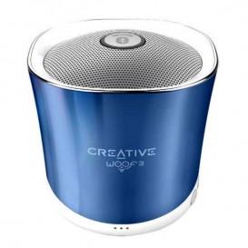 Creative WOOF3 Azul – Coluna Bluetooth