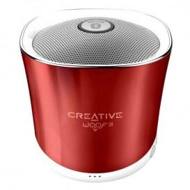 Creative WOOF3 Vermelho – Coluna Bluetooth