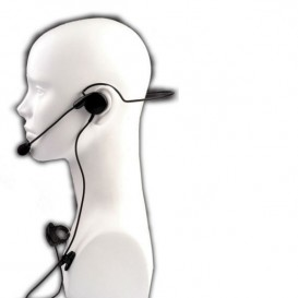 Microfone auricular HS-2 para Kenwood