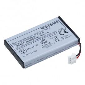 Bateria de Li-ion para transceptor Kenwood WD-K10TR
