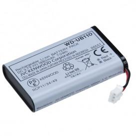Bateria de Li-ion para base portátil Kenwood WD-K10PBS