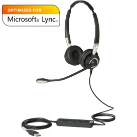 Jabra 2400 II Duo USB Antirruído - Skype for Business
