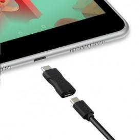 Adaptador KSIX Micro USB 2.0 a USB 3.1 Tipo C