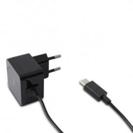 Carregador rede KSIX 2,4A USB Tipo C de 1m