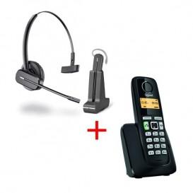 Auricular sem fios C565 + tel dect Gigaset A220