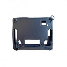 Capa de couro preta para iSafe IS910