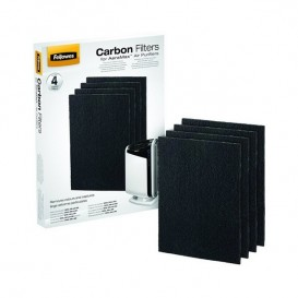 Filtros de carbono para o purificador DX55 Fellowes