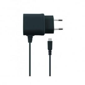 Carregador entrada micro USB KSIX 1A - Preto