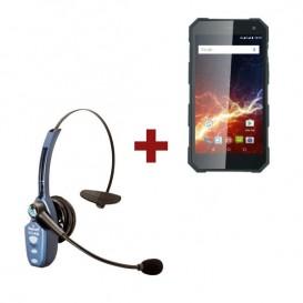 Smartphone Hammer Energy + Auricular VXi Blue Parrot B250-XTS