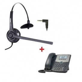 Cisco SPA 502G + Auricular Freemate DH037C