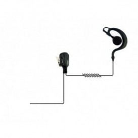 Auricular tipo gancho para Motorola Serie DP4xx/3xxx