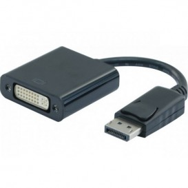 Conversor Display Port a DVI 20cm