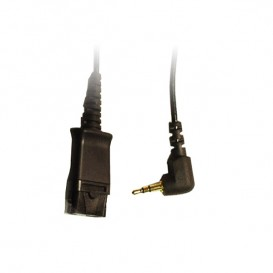 Cabo Plantronics QD / Jack 2.5 mm