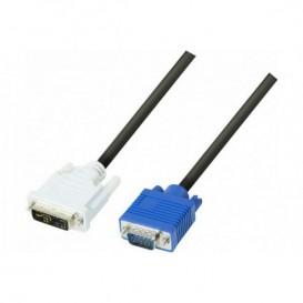 Cabo DVI-A/VGA HD 15m Single Link - 2,0m