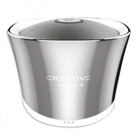 Creative WOOF3 Prata – Coluna Bluetooth