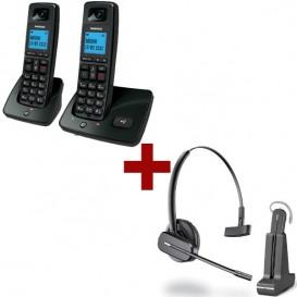 Daewoo DTD 4100 Duo + Auricular Plantronics C565