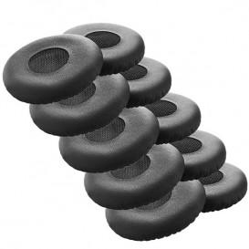 Almofadas semi pele para Jabra Evolve 20-65 (x10)