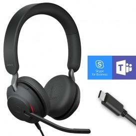 Jabra Evolve2 40 USB-C MS Stereo