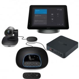 Logitech GROUP + SmartDock + Extender Box + Surface Pro 5