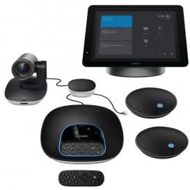 Logitech GROUP + SmartDock + Microfones de expansão