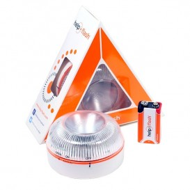 Luz de emergência intermitente HELP FLASH