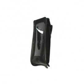 Bolsa de couro preta para iSafe IS730
