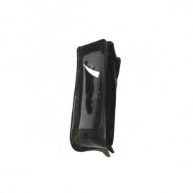 Bolsa de couro preta para iSafe IS740
