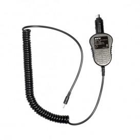 Carregador de isqueiro para walkie talkies Hytera