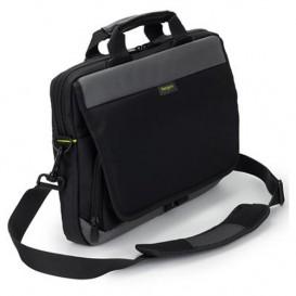 Targus CityGear mala para portáteis 35,6 cm (14'') Bolsa tipo pasta Preto