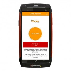 Smartphone i.safe IS730.2, Atex com câmara + App Lone Worker
