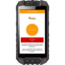 Smartphone Atex i.safe IS520.1 sem câmara + App Lone Worker