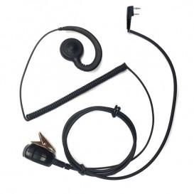 Kit auricular higiénico conexão Kenwood 2 pin