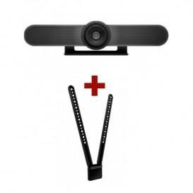 Logitech MeetUp Webcam + Montagem TV