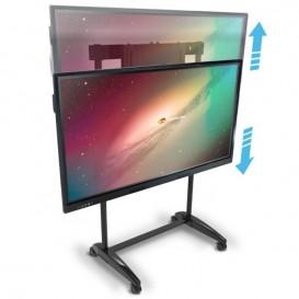 Suporte de ecrã móvel para ecrã MultiClass de 55'', 65'' e 75''