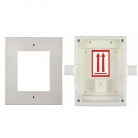 Moldura + caixa para 1 módulo - 2N IP Verso