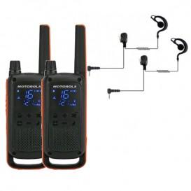 Pack Motorola TLKR T82 + 2 Kit Contorno BR1708