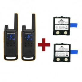 Motorola Talkabout T82 Extreme + 2 baterias de substituição