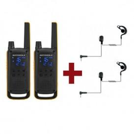 Motorola Talkabout T82 Extreme + 2 Kits Bodyguard