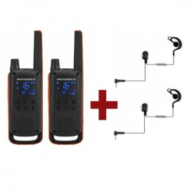 Motorola Talkabout T82 + 2 Kit Bodyguard